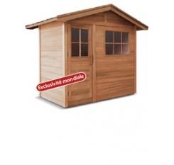 Saunalux royal maxi cabines infrarouges - Cabine sauna exterieur ...